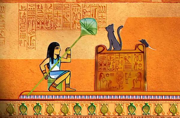 Contos de Museu (Piloto):<br />O Gato Múmia